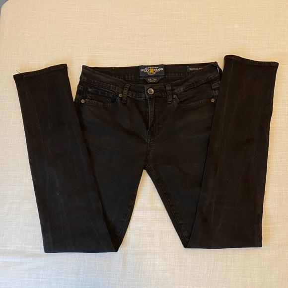 Women's Lucky brand black Jeans